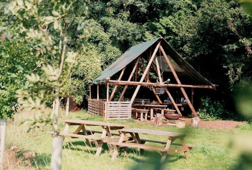 The Farm Camp, Glamping, Camping, Bath, Cotswolds, besondere Unterkunft