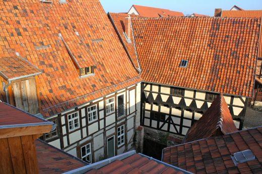 Himmlischer Hof, Ferienwohnung, Harz, Quedlinburg, besondere Unterkunft