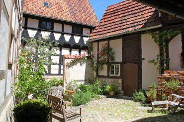 5_himmlischer Hof Quedlinburg_Blickin den Innenhof