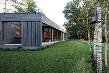 Allerzeit, Ferienhaus, Aller, Lüneburger Heide, Architektenhaus, Design, minimalistisch, Architektur