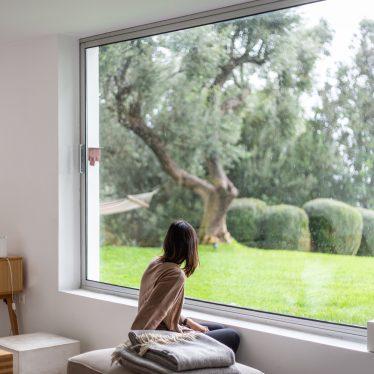 Casa Agostos Blick aus dem Fenster