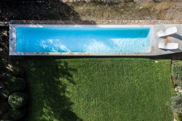 Casa Agostos Pool von oben