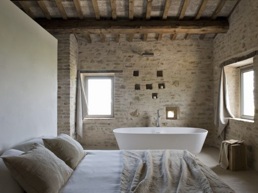 Casa Olivi, schönes Ferienhaus in Italien, besondere Unterkunft in Italien, Luxury, Design, Architektur, de Neuron, Cassina, Philippe Staeck, Vitra, Luxusferienhaus
