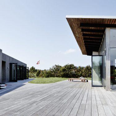 Ferienhaus Aavego - außergewöhnliche Architektur in Anger an der Nordsee, Dänemark