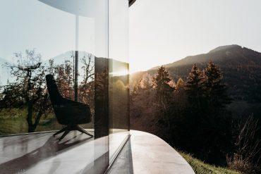 Freiform, Ferienhaus, Gästehaus, Architektur, Natur, Luxus, Südtirol, modern, Design, Italien