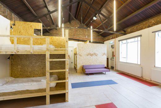 Green Rooms, London, Hostel,  besondere Unterkunft