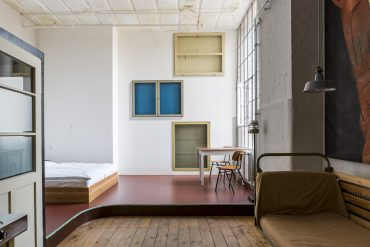 Meisterzimmer Leipzig, Ferienwohnung, Spinnerei, besondere Unterkunft