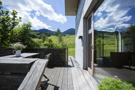 die bleibe, Ferienwohnung, Bayern, Architektur