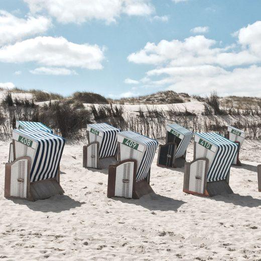 Dünen und Strandkörbe Norderney, Ferienwohnung Nordsee, Lieblingsquartiere, Soltausche Ferien,