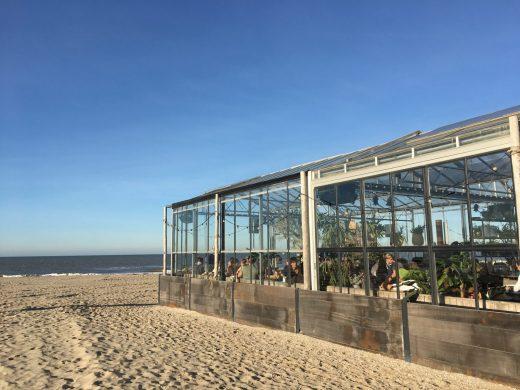 besondere Unterkunft Nordsee Niederlande, Strandbar Noordwijk, Holland, Niederlande,